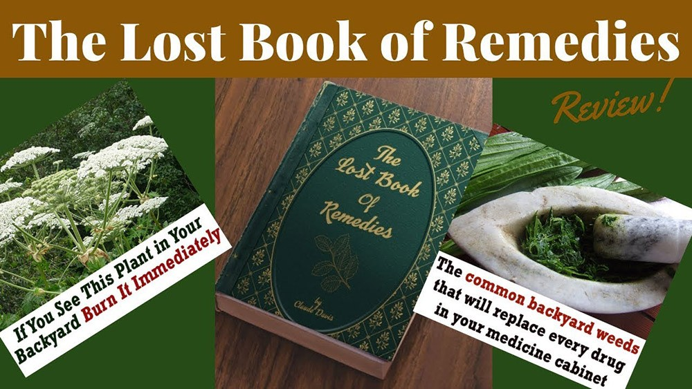 The Lost Book Of Remedies Review – Does It Work Or Scam?